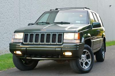 1996 Jeep Grand Cherokee Orvis Limited Edition 4WD 1 of 1965 Produced 1996 Jeep Grand Cherokee Orvis Limited Edition 4WD 1 of 1965 Produced