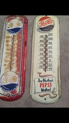 vintage pepsi thermometer sign