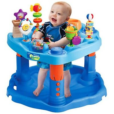 Evenflo ExerSaucer Activity Center, Mega Splash Blue