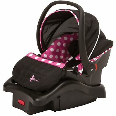 Disney Baby Light 'n Comfy 22 Luxe Infant Car Seat, Minnie Dot Other