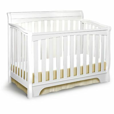 Delta Children Eclipse 4-in-1 Convertible Crib White