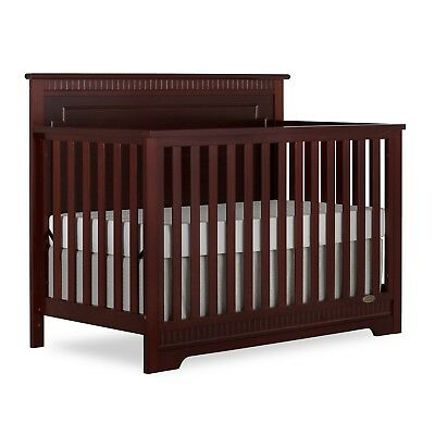 Dream On Me Morgan 5 in 1 Convertible Crib - Espresso Brown 70