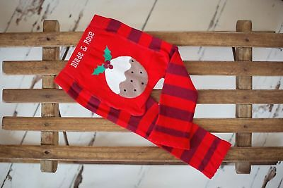 blade & rose chirstmas pudding leggings 0-6-12-18-24 months 1-2-3 yrs gift baby