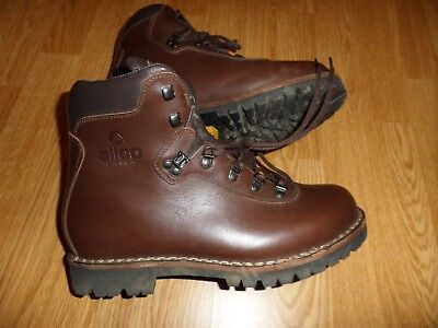 ee7af162512 ALICO SUMMIT FULL Grain Leather Hiking Boots Men's 9.5 Wide Rtl $340