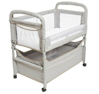 New Arms Reach Clearvue Cosleeper (Best Price) Grey With Tan Trimming