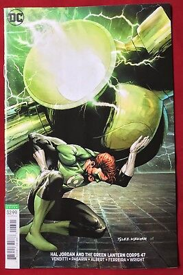 Hal Jordan And The Green Lantern Corps #47 Nm/mt Variant Cover