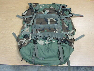 1 New Genuine Military Issue Large Cfp-90 Woodland Combat Field Pack Only