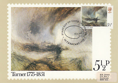 (17237) CLEARANCE GB PHQ FDI JMW Turner London WC 19 February 1975