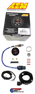 AEM X-Series UEGO 30-0300 Wideband 4.9LSU Lambda Sensor Kit Air Fuel Ratio Gauge
