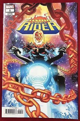 Cosmic Ghost Rider #1 Nm/mt Variant Mike Deodato Jr Cover