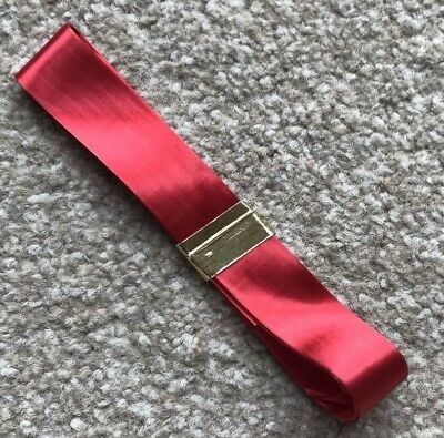 BRAND NEW 2.75m x 2cm SHINY RED RIBBON FOR CAKE DECORATING, GIFT WRAPPING