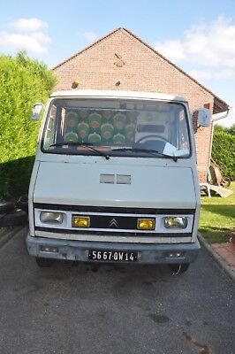 """Citroen C35 """"son of the H Van"""" camper home/ made conversion"""