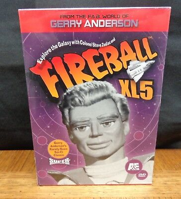 Fireball Xl5 5 Dvd Box Set New In Shrink Wrap Gerry Anderson 39 Episodes