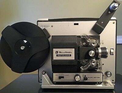 BELL & HOWELL 462A Super 8 Film / Movie Projector. Serviced & Tested