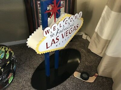 Nascar Las Vegas Trophy Sign Award