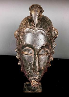 Outstanding   Tribal  Baule   Mask            ---  Coted'Ivoire