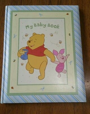 My Baby Book Disney Winnie the Pooh Stepping Stones C.R. Gibson Memory Book