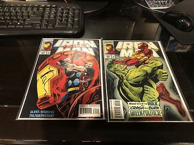 IRON MAN #304 + #305 -- 1st Appearance HULKBUSTER -- VF/NM Or Better