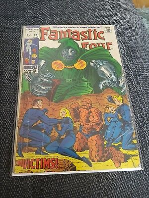 Fantastic four 86 silver age classic cover