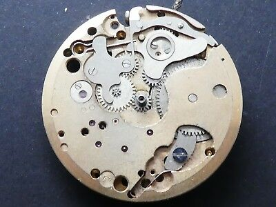 valjoux 92 not working Chronograph Movement Caliber for parts  (K123)