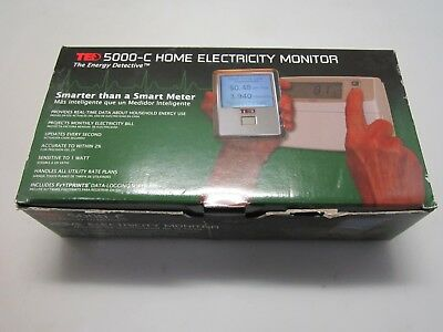 New Open Box TED 5000-C The Energy Detective Home Electricity Monitor
