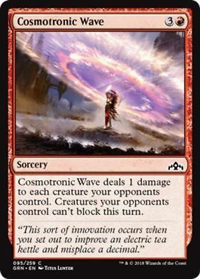 4 Cosmotronic Wave, Guilds of Ravnica
