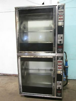 """""""henny Penny - Scr 8"""" H.d. Commercial Double Stacked Electric Rotisserie Oven"""