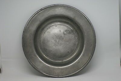 18Th Century Fine Pewter Plate