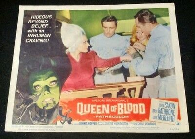 Queen of Blood 1966- VINTAGE 11 x 14 Color Lobby Card # 6