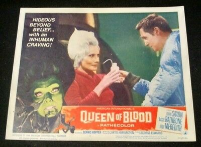 Queen of Blood 1966- VINTAGE 11 x 14 Color Lobby Card # 2