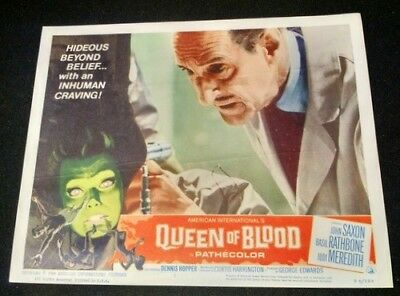Queen of Blood 1966- VINTAGE 11 x 14 Color Lobby Card # 7