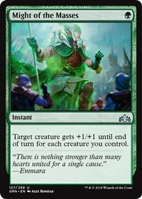 4 Might of the Masses, Guilds of Ravnica