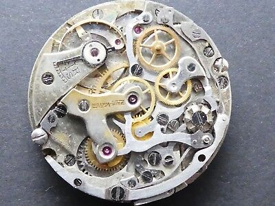 venue 175 not working Chronograph Movement Caliber for parts (K131)