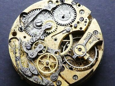 Landeron ? not working Chronograph Movement Caliber for parts (K132)