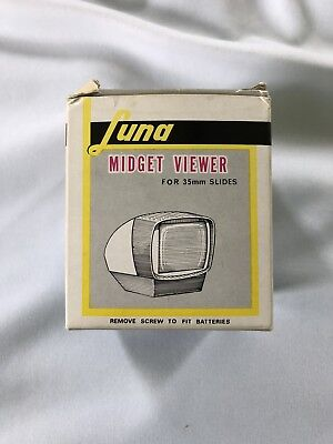 VINTAGE LUNA MIDGET VIEWER SLIDE VIEWER FOR 35 mm No.1105