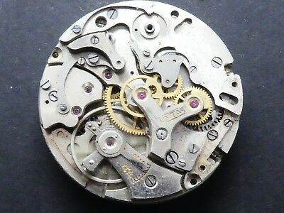 Venus 188 not working Chronograph Movement Caliber for parts (K138)