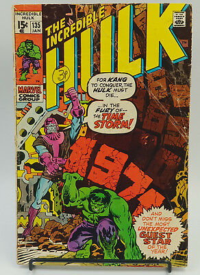 Incredible Hulk #135 Bronze Age Marvel Comics Herb Trimpe G
