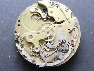 big landeron not working Chronograph Movement Caliber for parts (K140)