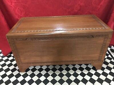 Camphor Wood Chest - Chinese / Oriental