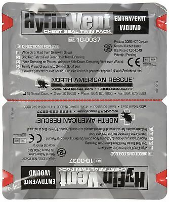 North American Rescue Hyfin Vent Chest Seal 2 Count