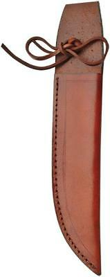 "Brown Leather Sheath For Straight Fixed Blade Knife Up To 7"" Blade 1159"