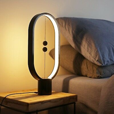ALLOCACOC Heng Balance lamp - Ellipse Magnetic mid-air Switch USB Powered LED...