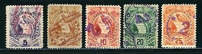 Guatemala Quetzal Fancy Cancel Selections: Small Assortment #2 - SEE SCAN - $$$