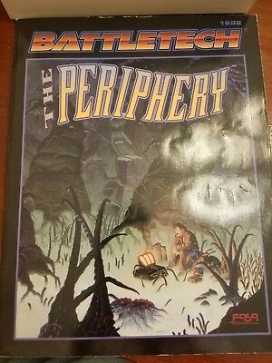 """Classic Battletech """"The Periphery"""" 2nd Edition Sourcebook FASA #1692 1995"""