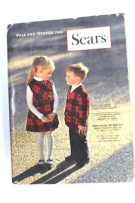 VTG Sears Fall and Winter Catalog 1966 VTG Fashion Costume Research Panties