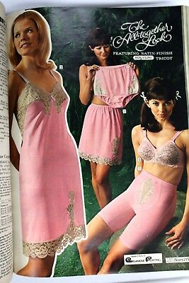 VTG Sears Fall and Winter Catalog 1969 VTG Fashion Costume Research Panties
