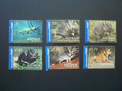 2006 -  AUSTRALIAN NATIVE WILDLIFE - International Post CTO - Full Gum