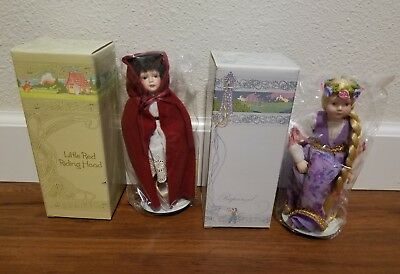 Avon Fairy Tale collection Rapunzel and Red Riding Hood Princess
