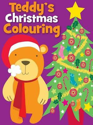 Christmas Colouring Teddy, Carly Blake, New