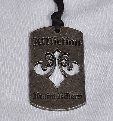 Affliction - Men's Dog Tag Necklace - DENIM KILLERS - Antique Finish - NEW